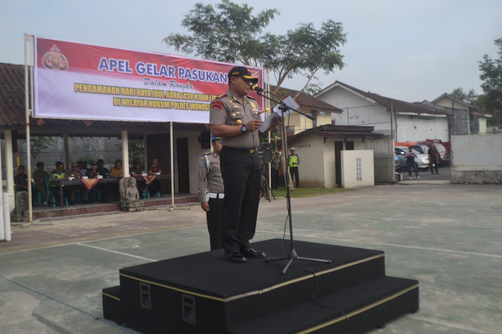TNI-Polri Gelar Pasukan Amankan Idul Adha 1438 H dan Libur Panjang