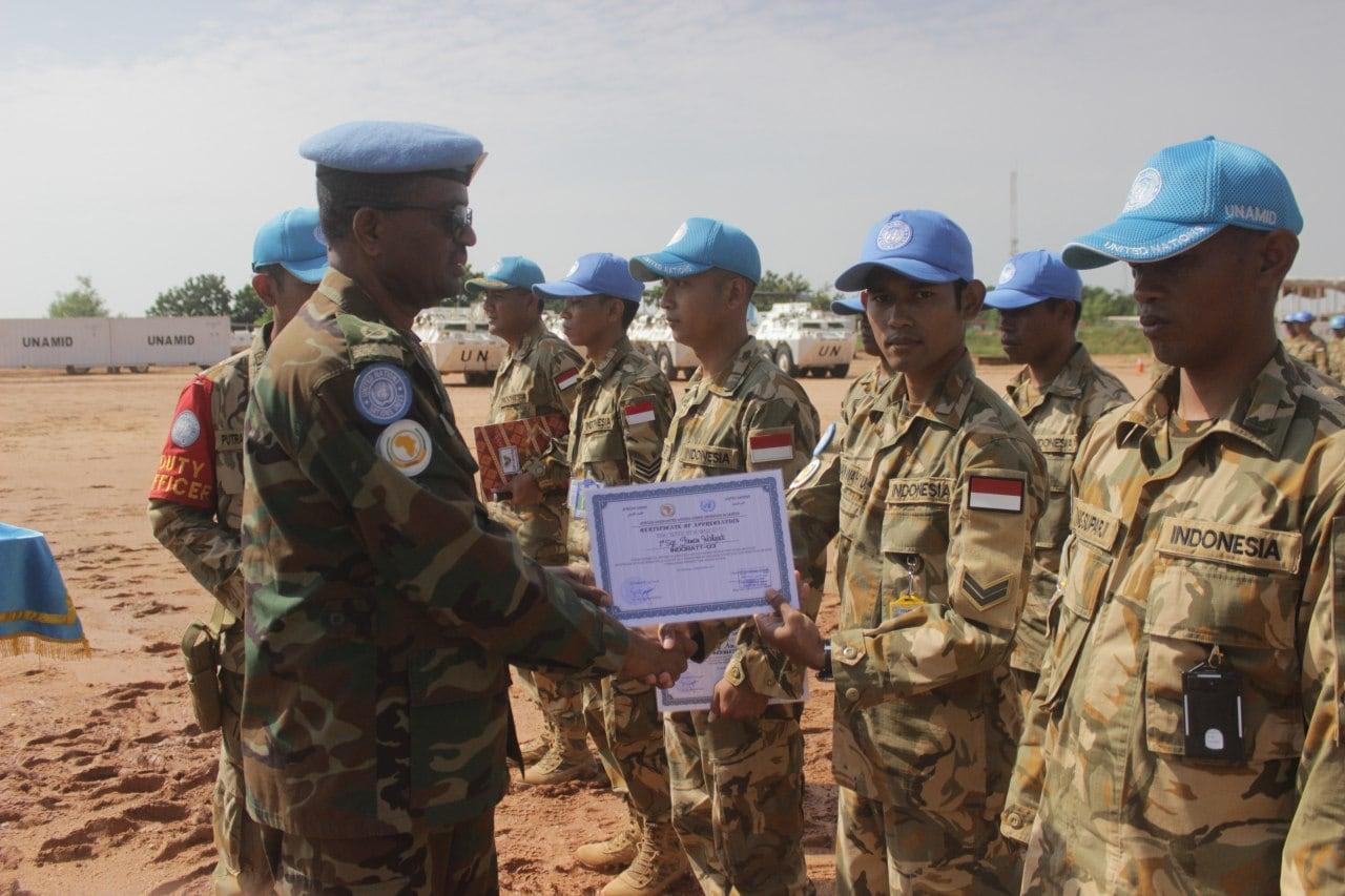 Aksi Heroik, Anggota Satgas Garuda selamatkan Warga di Darfur