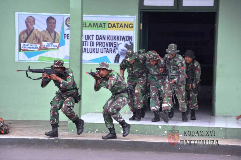 Simulasi Pembebasan Sandera Akan Memeriahkan Puncak HUT Ke 72 TNI Di Ternate