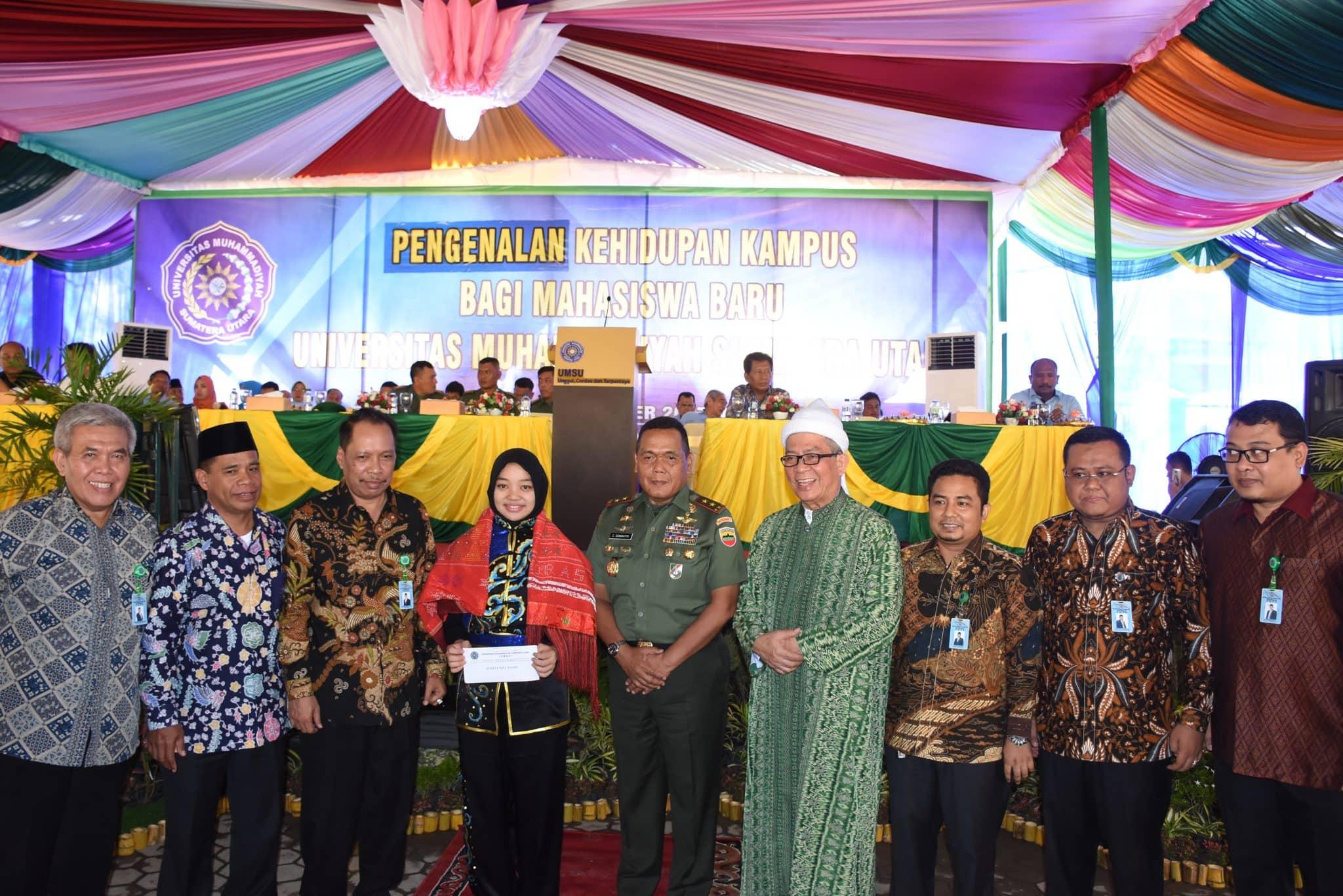 Pangdam I/BB : Mahasiswa Berperan Penting Dalam Sejarah Perjuangan Bangsa