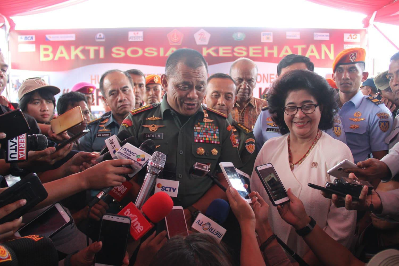 Panglima TNI : Baksos Kesehatan TNI Wujud Kepedulian Kepada Masyarakat