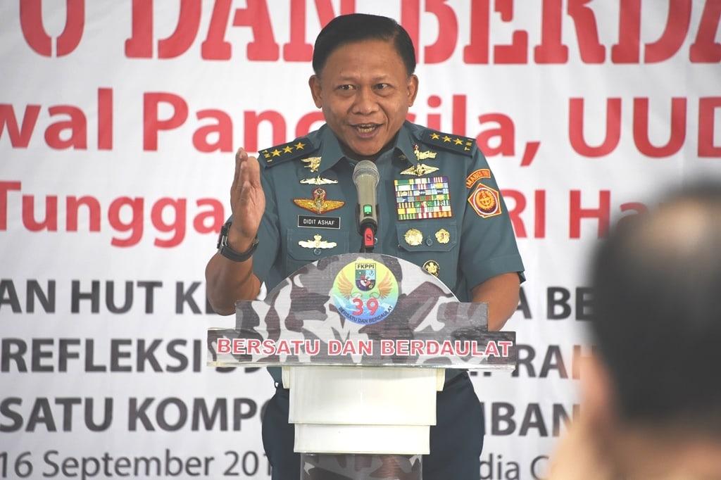 Panglima TNI: Generasi Muda FKPPI Agen Perubahan yang Tangguh