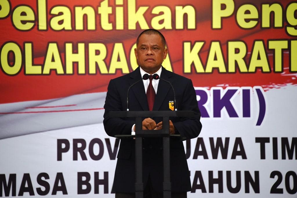 Panglima TNI : FORKI Siap Hadapi Asian Games 2018 dan Olimpiade 2020