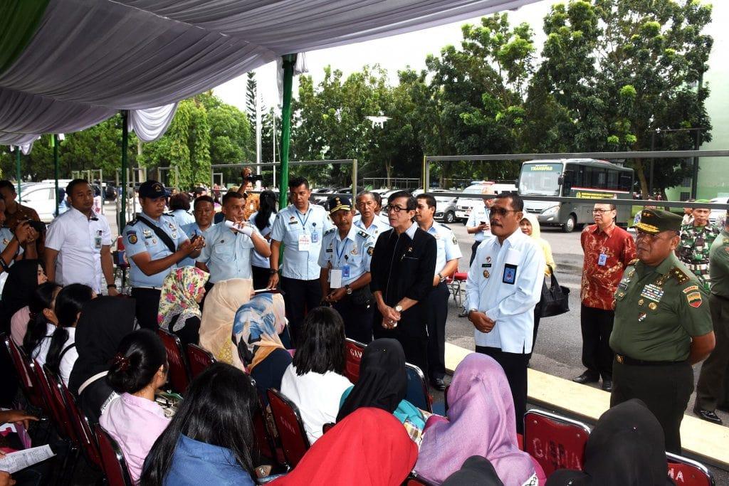 Kodam I/BB Tempat Pelaksanaan CPNS Kemenkumham Wilayah Sumut