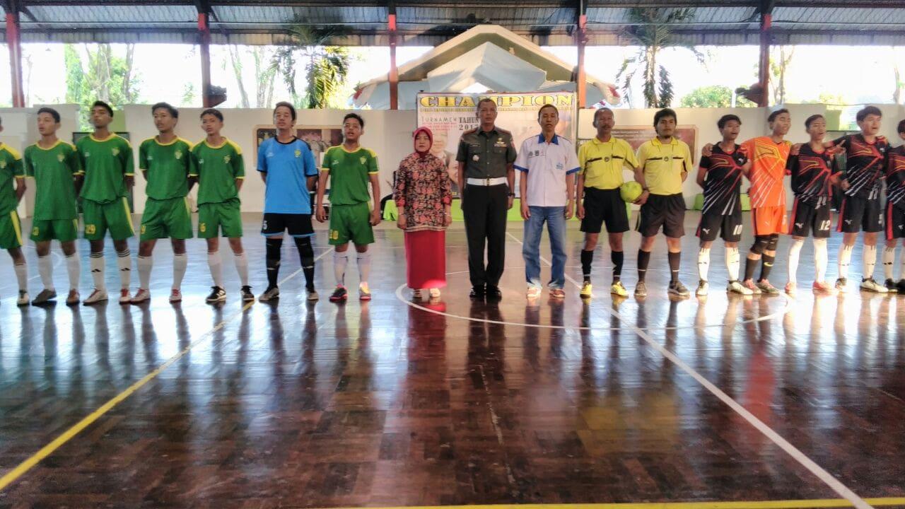 Cetak Atlet Olahraga, Pomdam dan Dispora Gelar Turnamen Futsal U-17