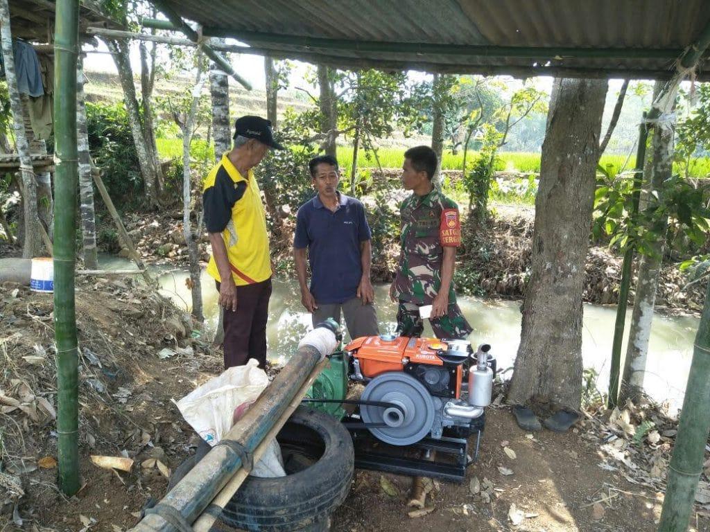 Brigade Alsintan Kodim 0736/Batang antisipasi kekeringan di wilayah Kodim 0736/Batang