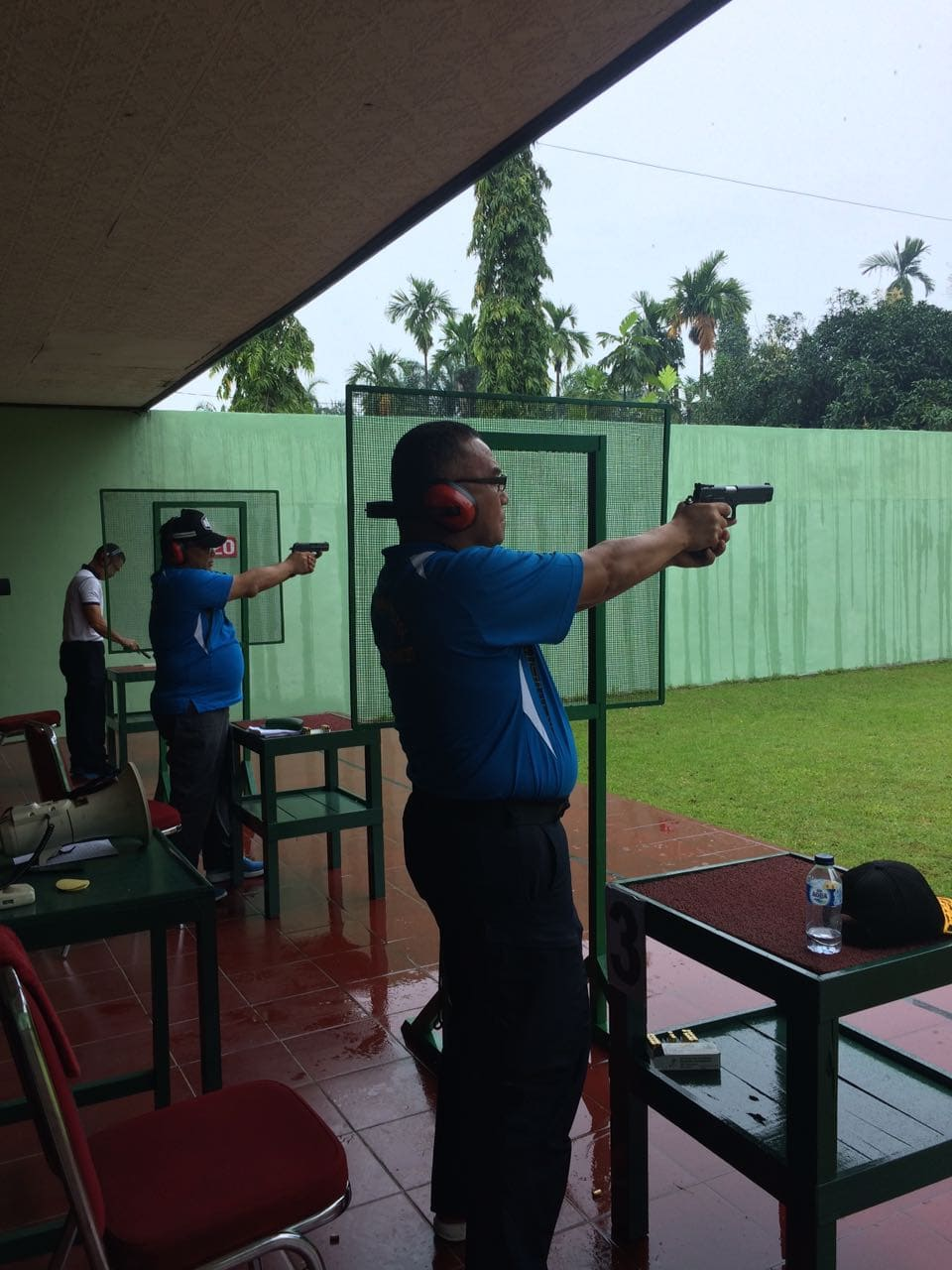 Sambut HUT ke-72 TNI, Kodam I/BB Gelar Lomba Tembak