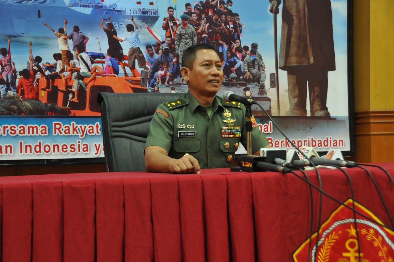 Kapuspen TNI : Demonstrasi Latgab Tiga Matra Akan Meriahkan HUT Ke 72 TNI