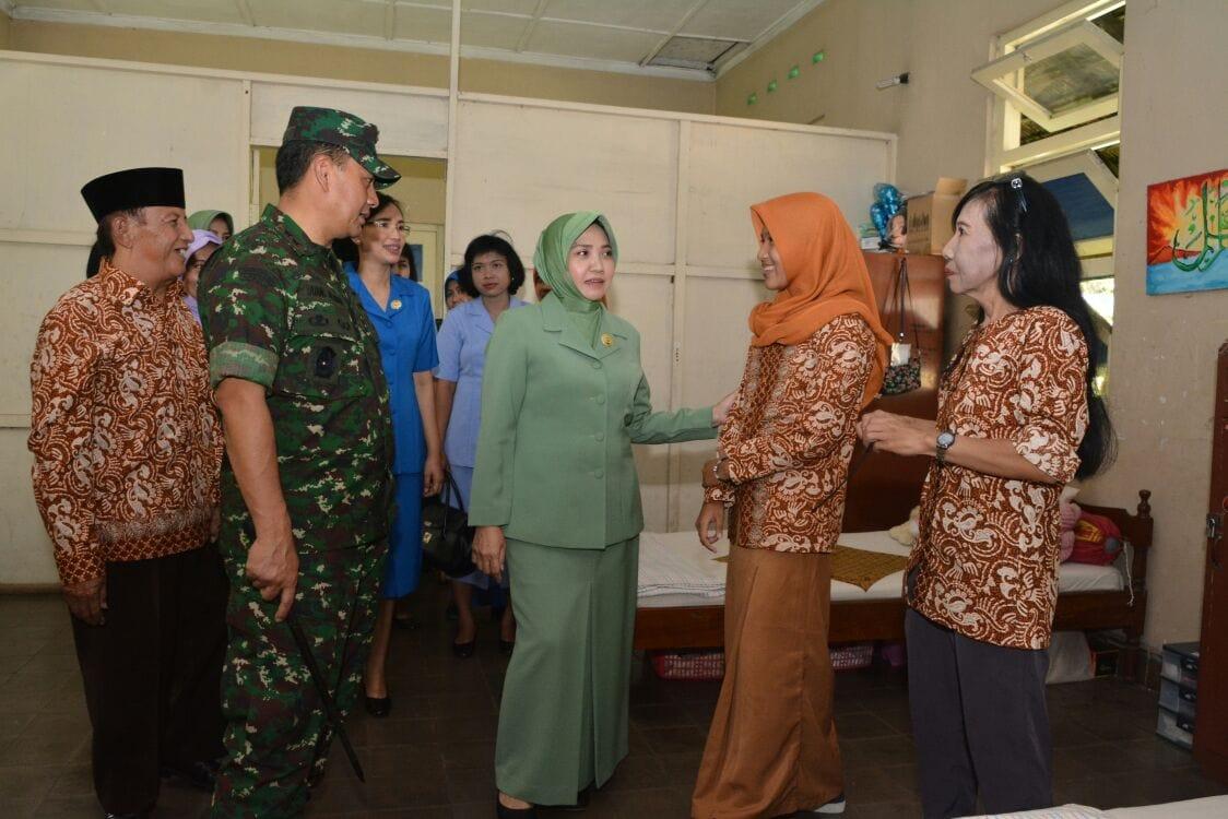 Anjangsana HUT Ke 72 TNI dan HUT Ke 67 Kodam IV/Diponegoro