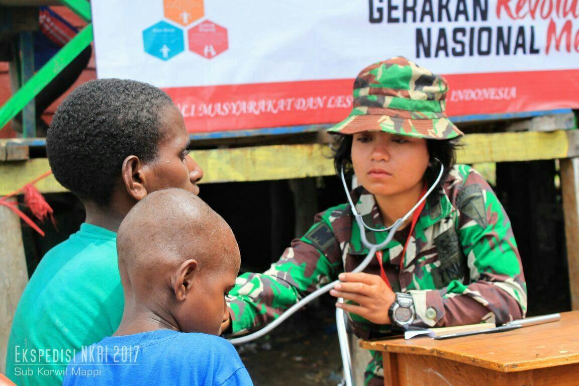 Ekspedisi NKRI Sambangi Kampung Sumur Aman, Gelar Pengobatan Massal