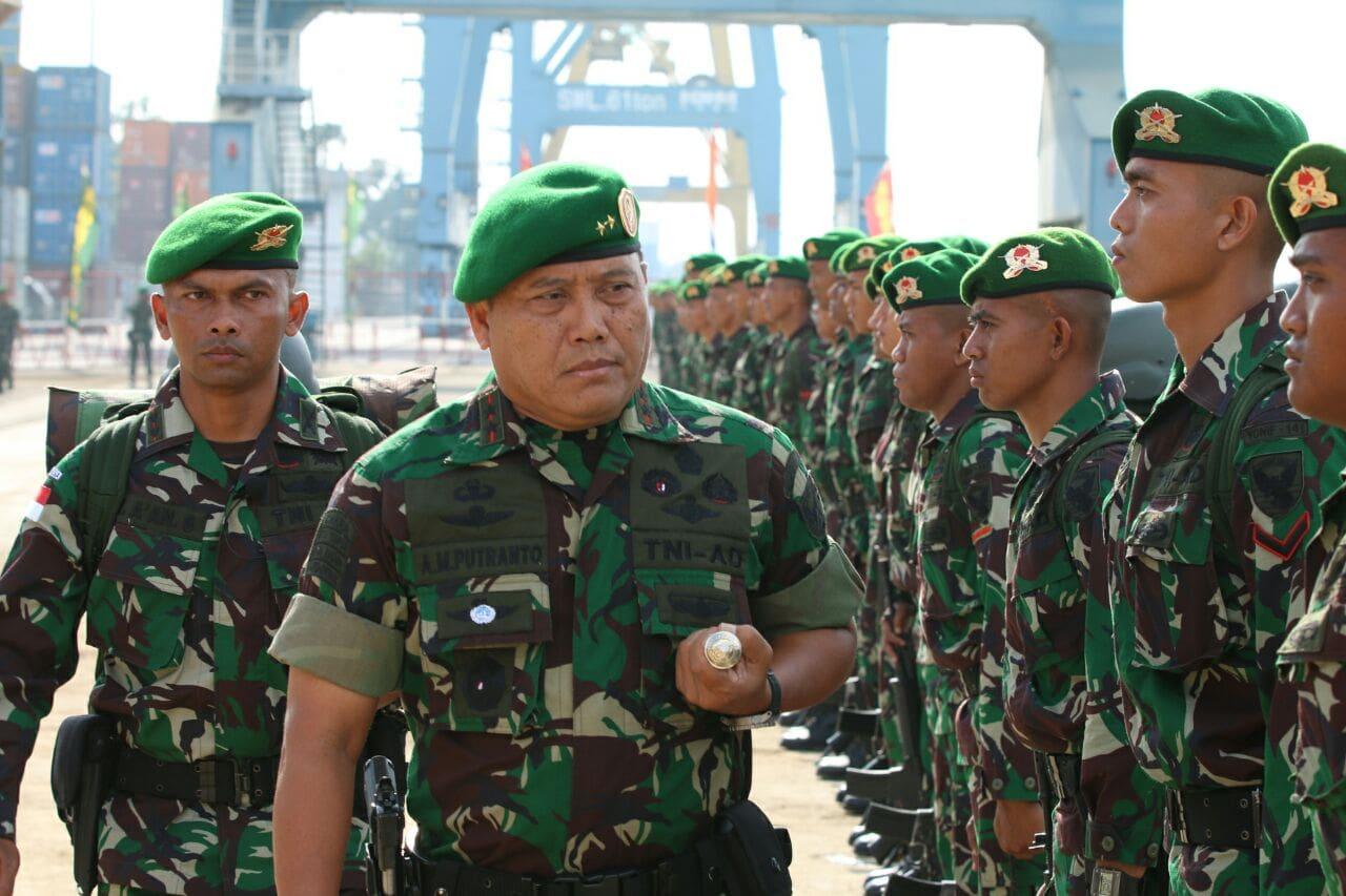 Prajurit Yonif 141/Ayjp Siap Menjaga Perbatasan di Kalimantan