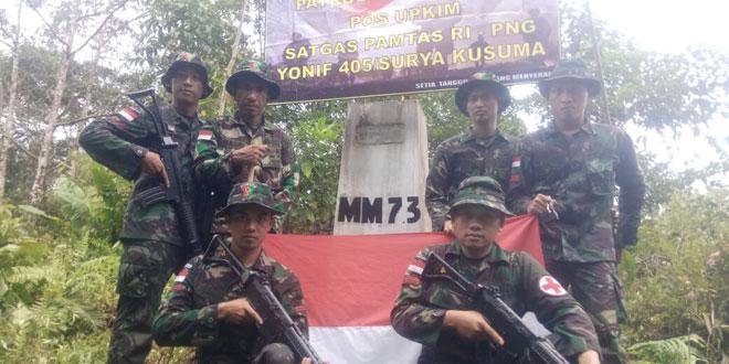 Medan yang Berat Tak Surutkan TNI untuk Terus Menjaga Keutuhan NKRI