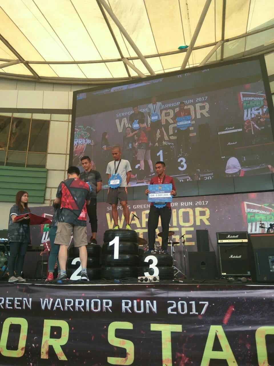 """Prajurit Yonif Mekanis 411/Kostrad Raih Juara """"Serpong Green Warrior Run 2017"""""""