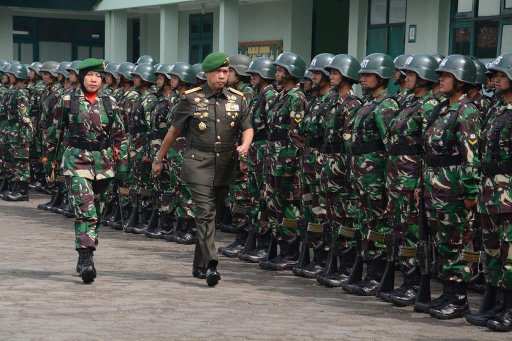 140 Calon Bintara Kowad Bertalenta dan Atlet Siap Digembleng
