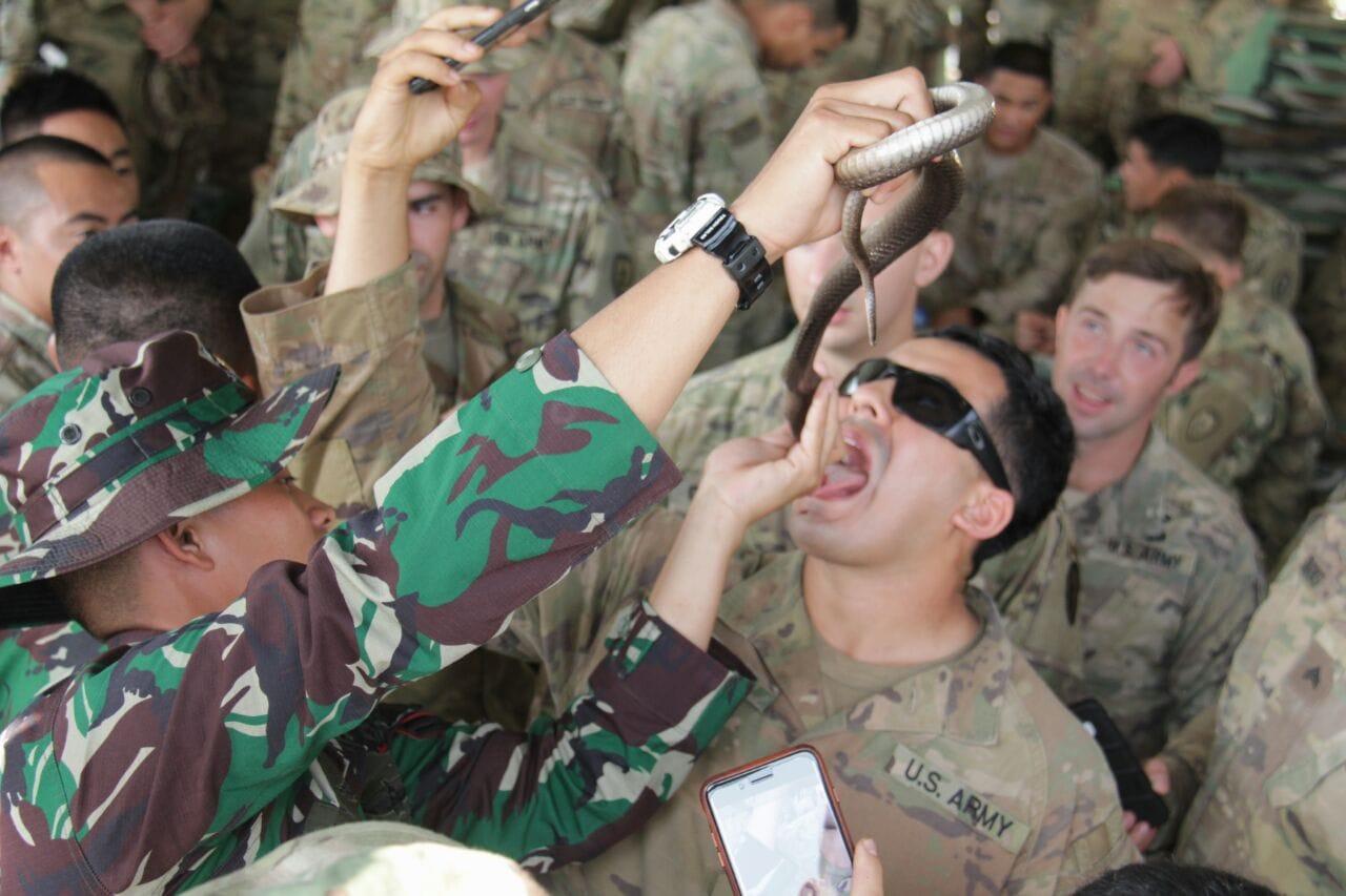 Latma Garuda Shield, Ajang Berbagi Ilmu Militer dan Pererat Kerja Sama TNI AD Dengan US Army