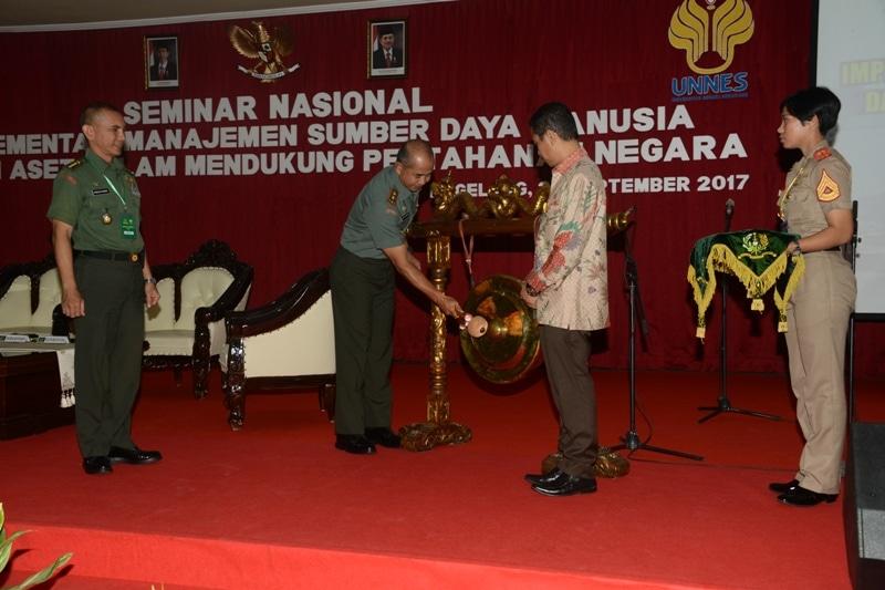 Akademi Militer Gelar Seminar Nasional