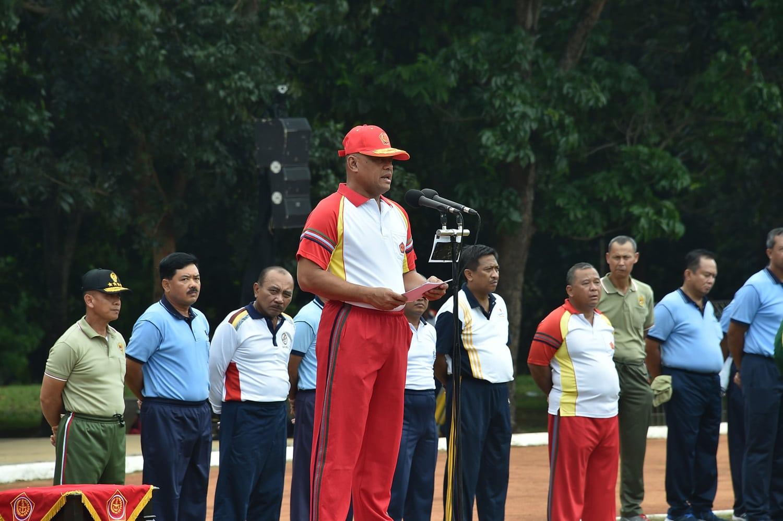 Panglima TNI : Junjung Tinggi Sikap Kesatria Sebagai Olahragawan Sejati.