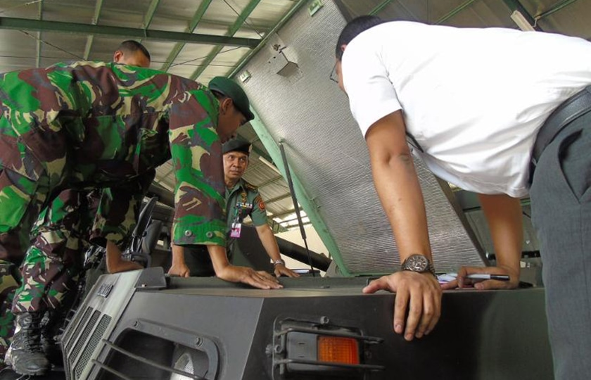BPK RI Periksa Alutsista TNI