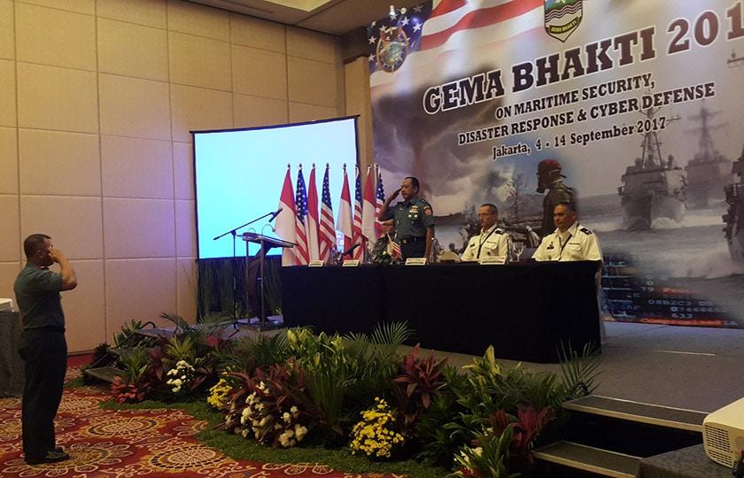 """Latihan """"Gema Bhakti 2017"""" Fokus pada Perencanaan Operasi Militer Bersama"""