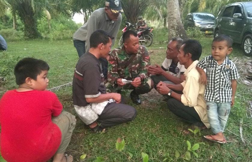 Babinsa Sebagai Motivator Bagi Warga untuk Membangun Desa
