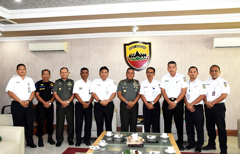 Pangdam I/Bukit Barisan Terima Audiensi PT. KAI