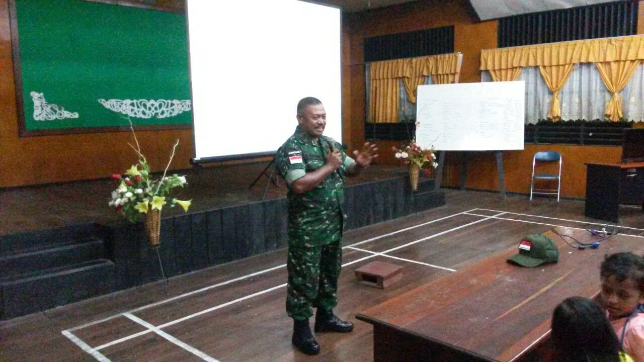 Ekspedisi NKRI Gelar Nobar Film G30 S/PKI di Papua Selatan