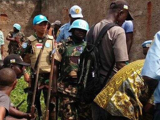 Prajurit TNI Dukung Pelaksanaan DDR di Republik Afrika Tengah.