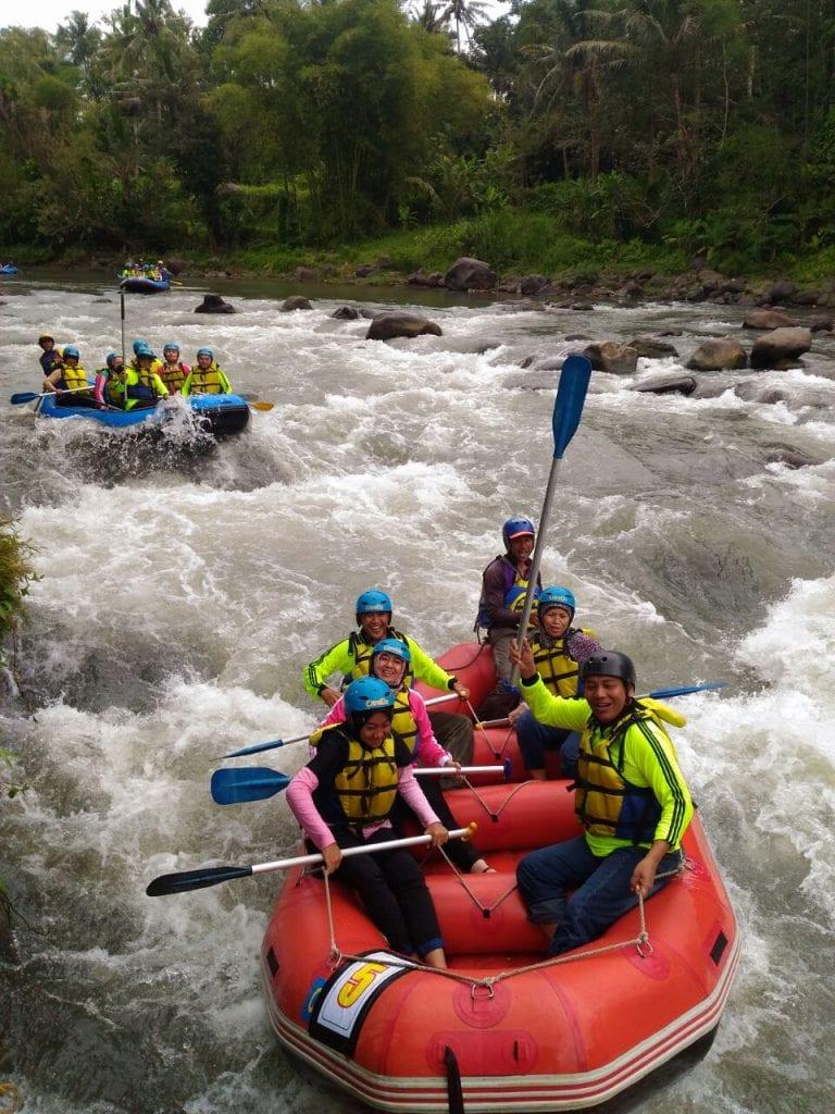 Sungai Elo, Objek Wisata Arung Jeram Ekstrim di Magelang