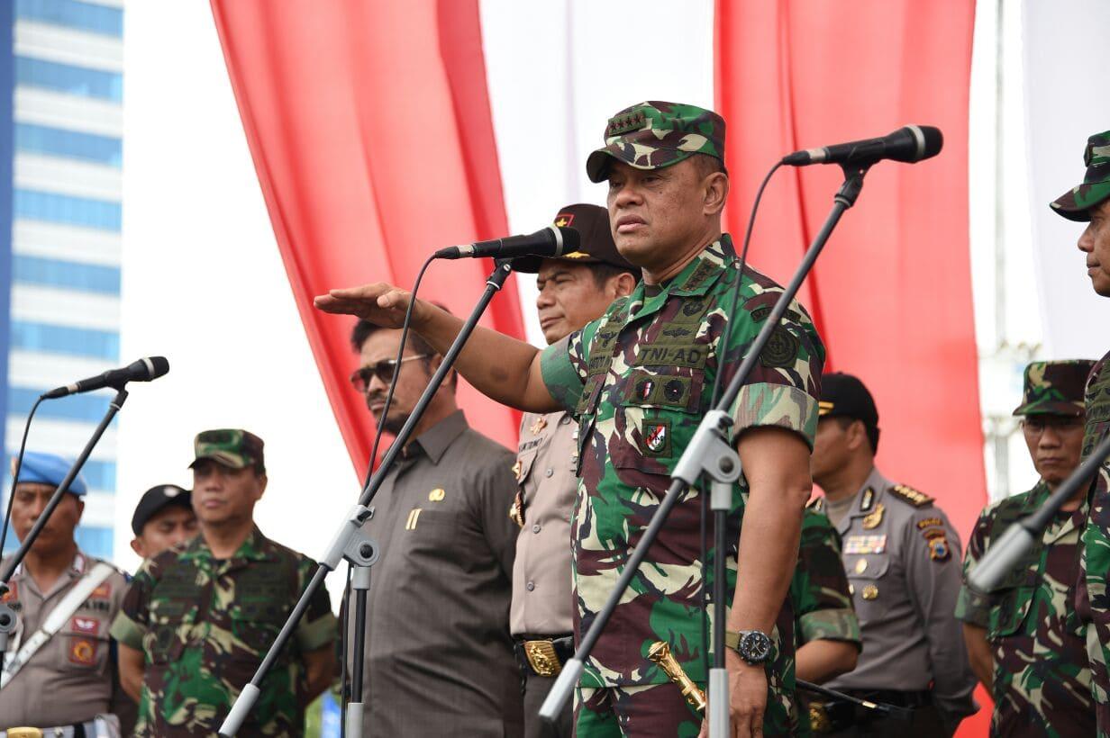 Panglima TNI : Soliditas TNI dan Polri Modal Utama Menjaga Stabilitas Keamanan