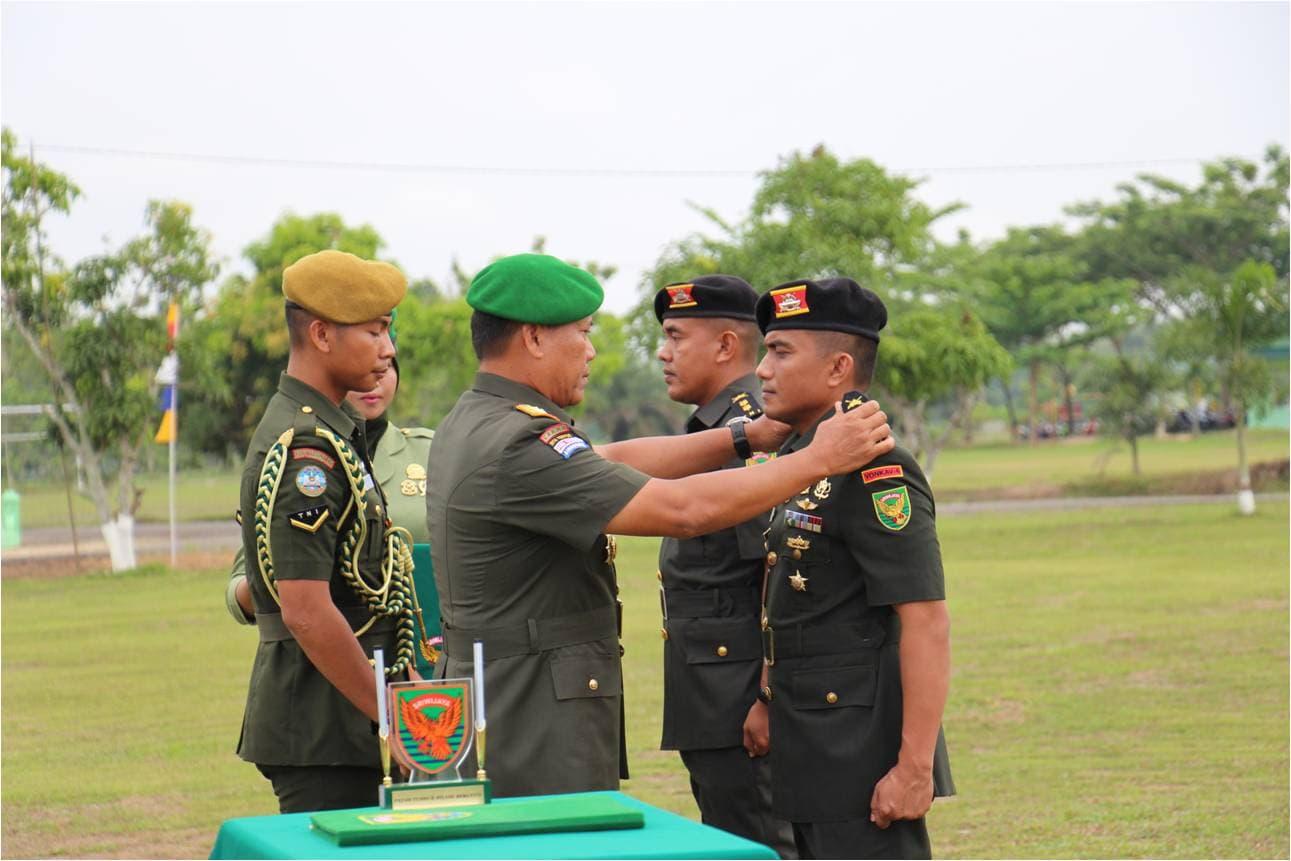 Pangdam II/Swj : Optimalkan Peran Dansat Untuk Pembinaan Satuan.