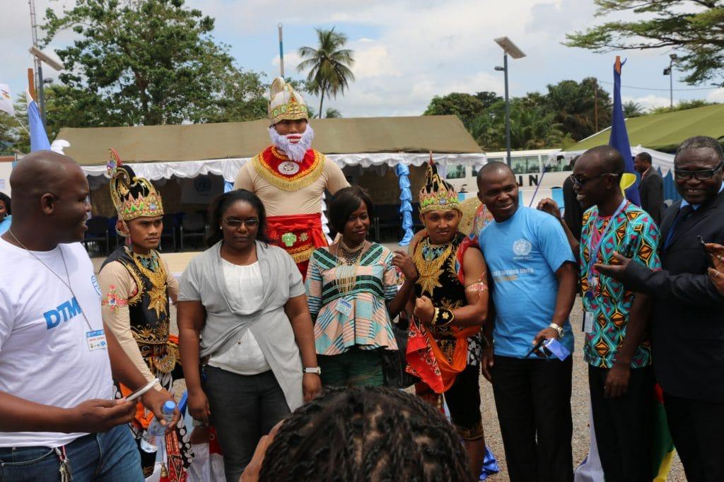 Kesenian Tradisional Indonesia Meriahkan Peringatan UN Day ke-72 di Afrika