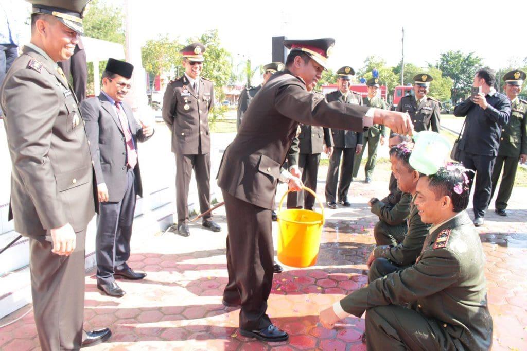 Naik Pangkat Anggota Kodim 0104 Aceh Timur dan Polres Langsa.