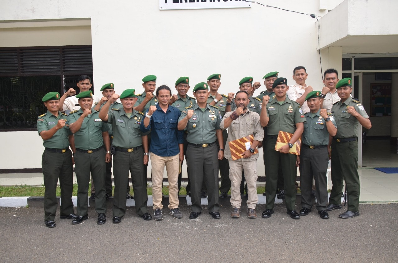 Harumkan Nama Satuan, Pendam IM Apresiasi Prajurit Pemenang Lomba Foto HUT ke-72 TNI