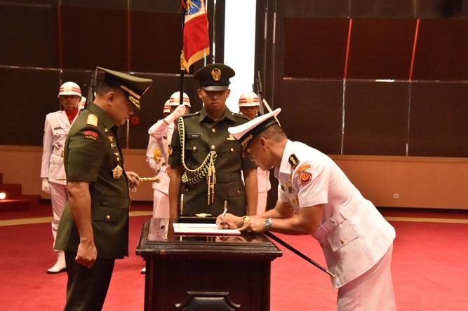 Panglima TNI Resmikan Satuan Siber TNI.