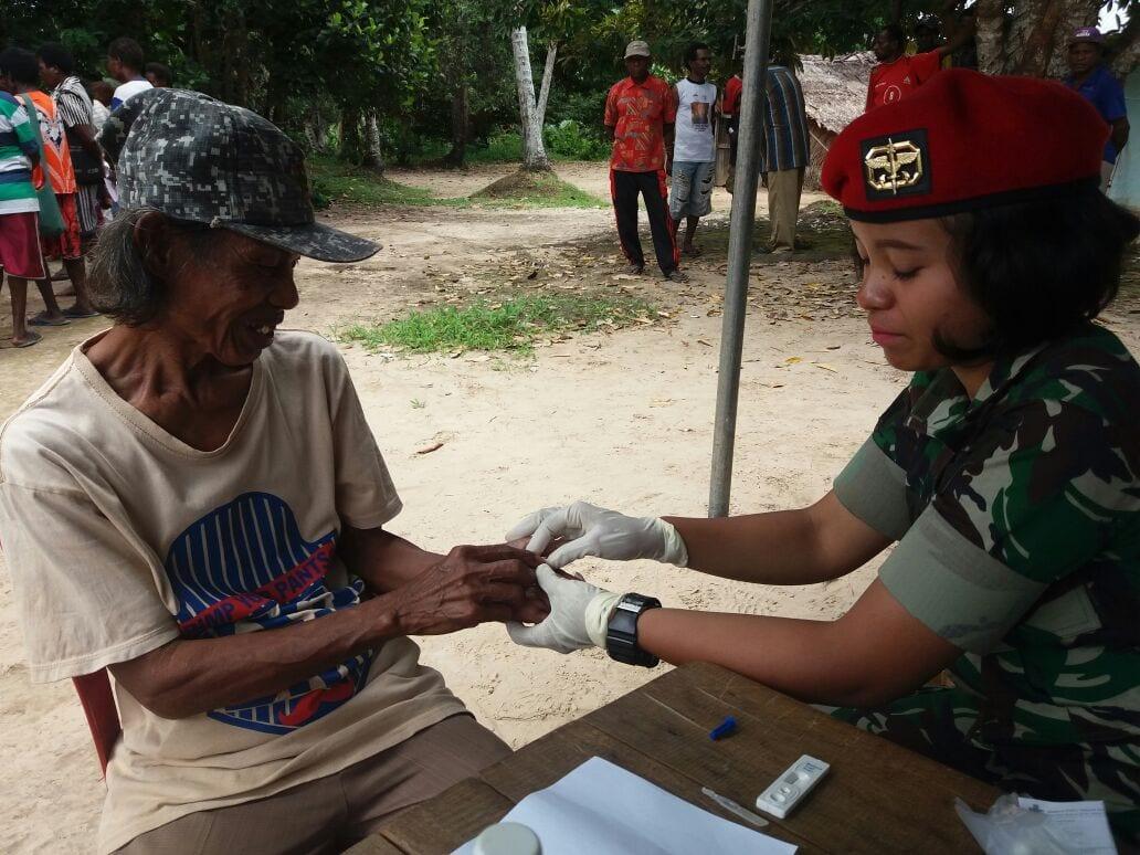 Tim Ekspedisi NKRI Gelar Pengobatan Gratis Serta Ajak Warga Lestarikan Alam