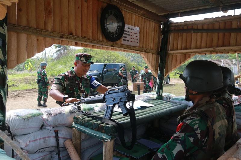 Antisipasi Ancaman Saat Tugas, Prajurit Kostrad Gelar Latihan