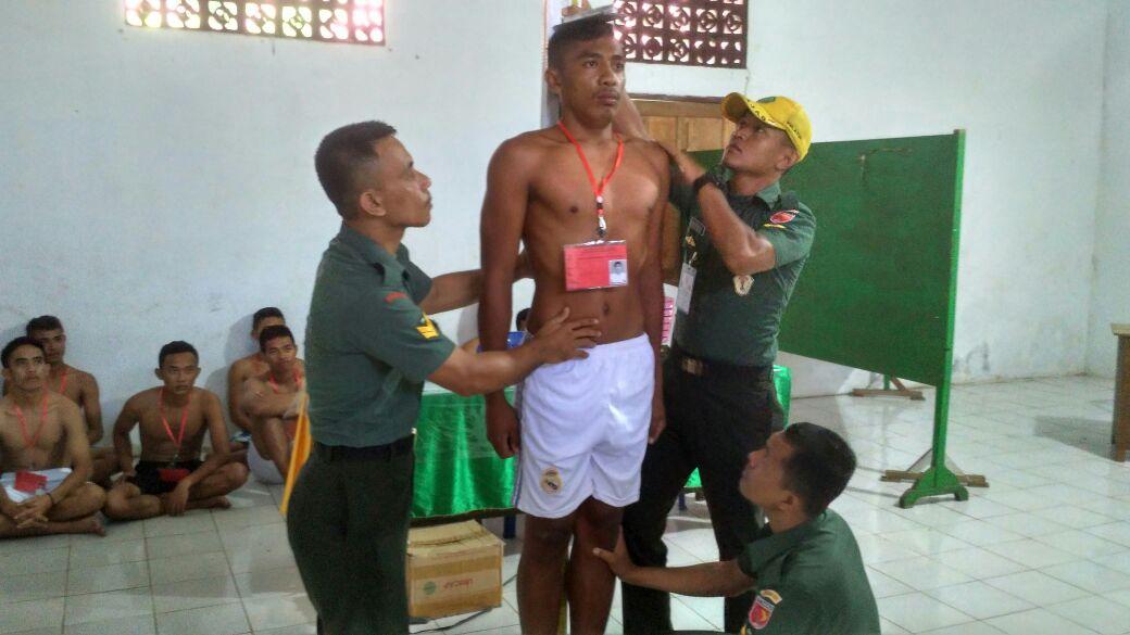 56 Pemuda Morotai Siap Bersaing Menjadi Anggota TNI AD