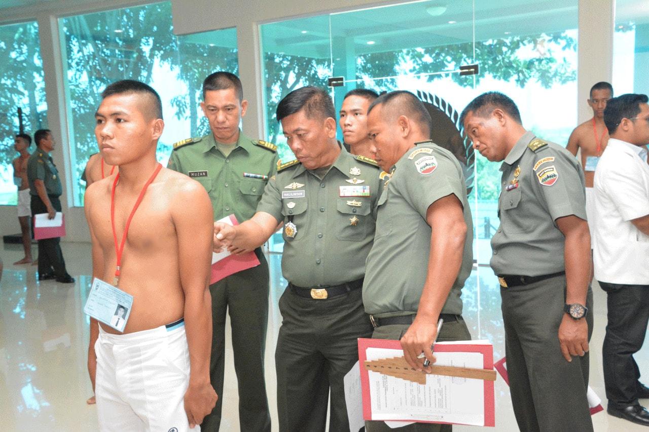 Kualitas Prajurit TNI AD Diawali dari Proses Seleksi Yang Benar dan Baik