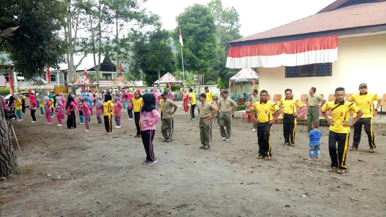 Olahraga Bersama, Sarana Meningkatakan Sinergitas TNI-Polri dan Kecamatan