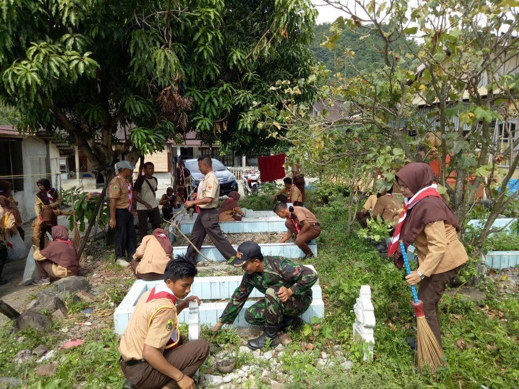 Bakti Sosial Meriahkan HUT Saka Wira Kartika di Aceh Selatan