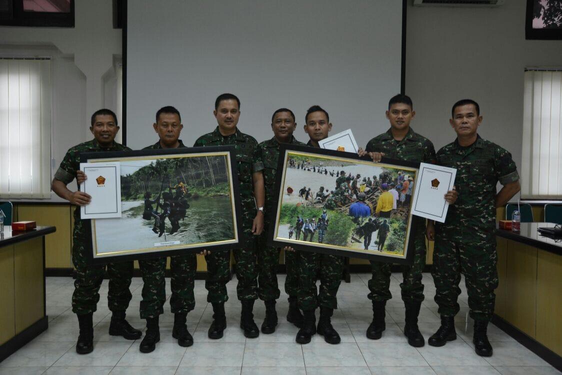 Kodam IM Raih Juara III Lomba Foto yang Diselenggarakan Puspen TNI