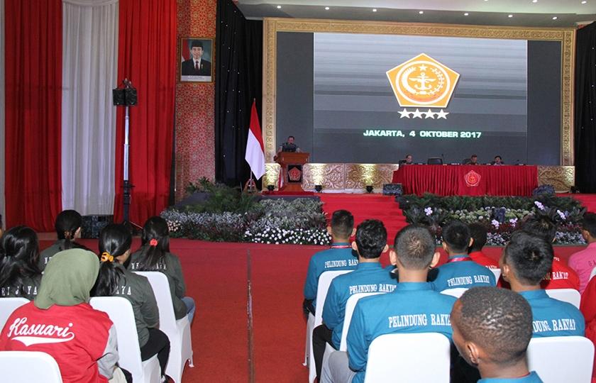Panglima TNI Ajak Pemuda Menjaga Kedaulatan Negara