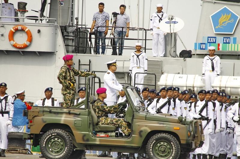 Meriahnya Peringatan HUT Ke-72 TNI di Sumatera Utara