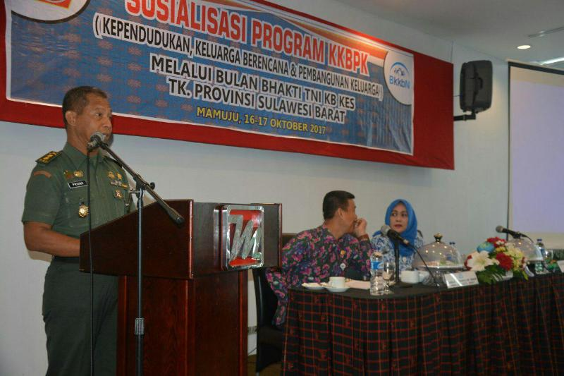 Andil Besar Babinsa Sukseskan Program KKBPK BKKBN Sulbar