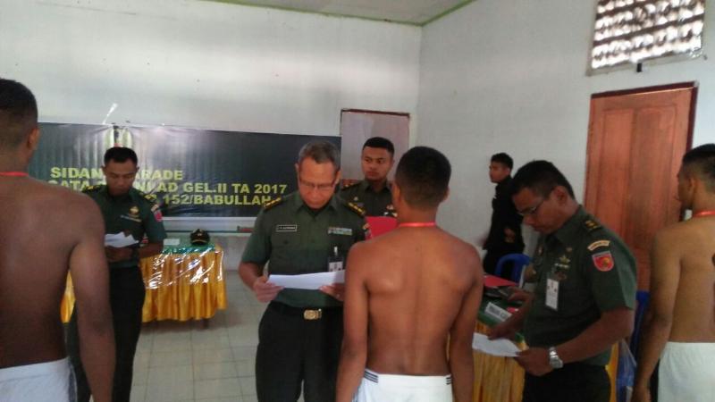 14 Pemuda Morotai Siap Ikuti Seleksi Tingkat Pusat Secata PK TNI AD Pulau Terluar