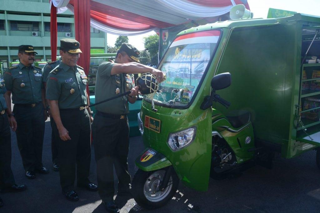 Kodam V/ Brawijaya Launching 10 Unit Si-Mokos