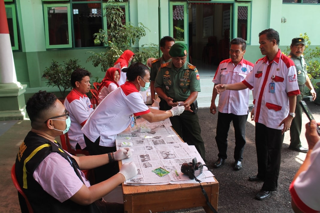 BNK Brebes Sosialisasi dan Penyuluhan Narkoba di Kodim 0713/Brebes