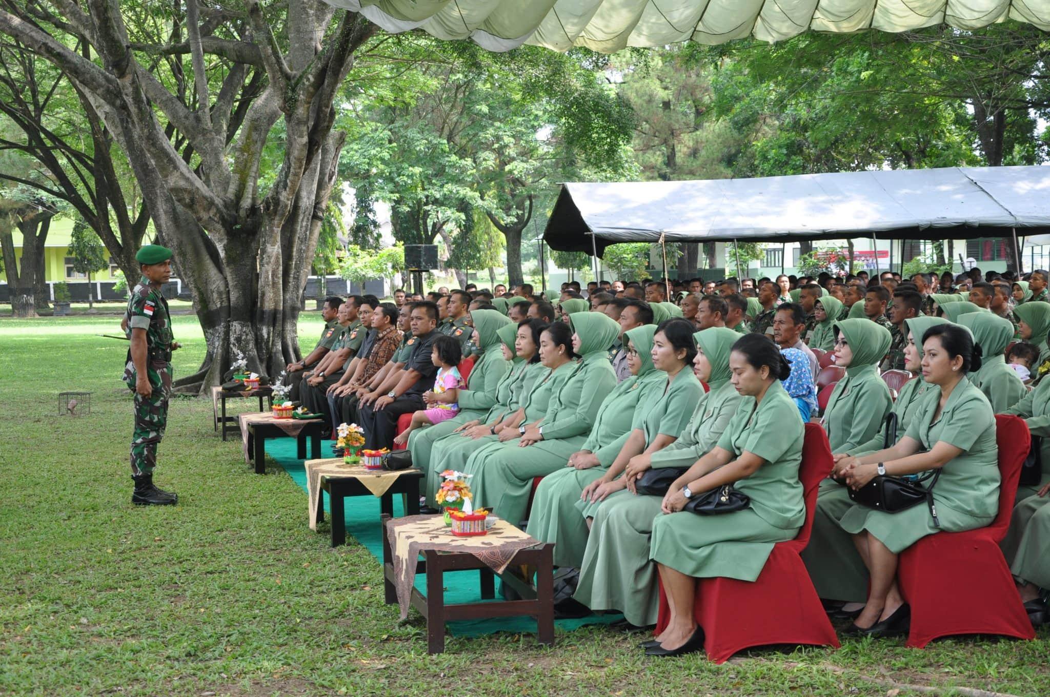 Danrem Pamungkas Pimpin Syukuran Purna Tugas Pamtas RI-Malaysia Yonif 403/WP