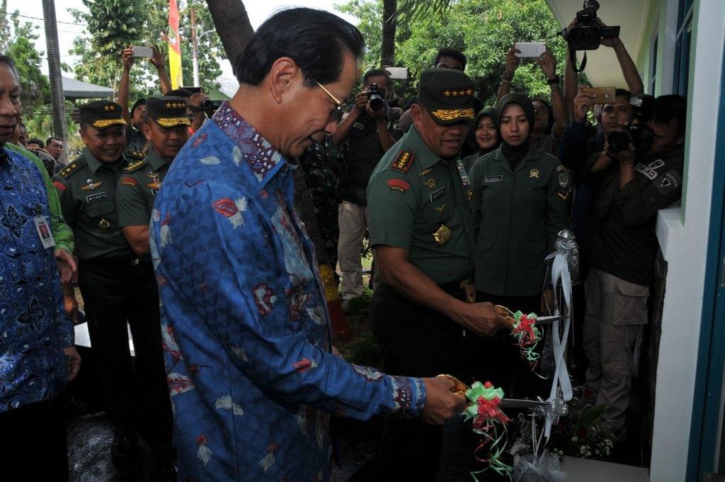 Panglima TNI Resmikan Rumdis dan Barak Prajurit