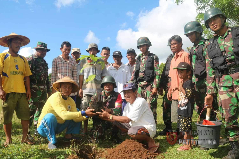 Latihan Sukses, TNI Gelar Penghijauan Pasca Latihan